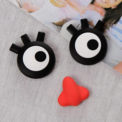 Eyes and Red Nose Funny Fidge Magnet