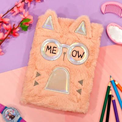 Fancy Cat Plush Notebook