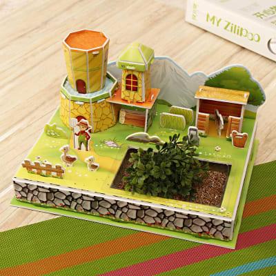 Farmhouse Puzzle-27 Pieces