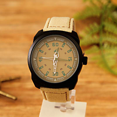 watch quality leather six dp casual belt watches pin amazon quartz black nykkola com fashion male three