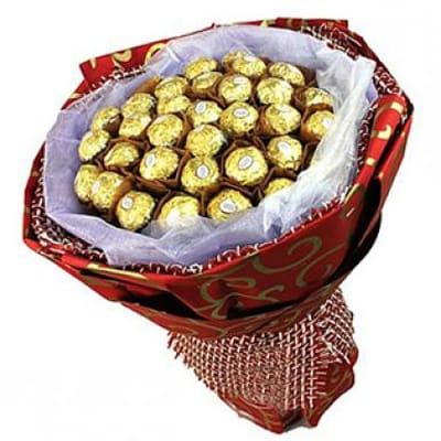 Ferrero Galore - Chocolate Ferraro Rocher Blooming Bouquet