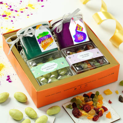 Flavoured Dry Fruits & Colors in Gift Box