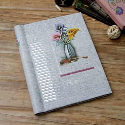 Floral Personalized Photo Album