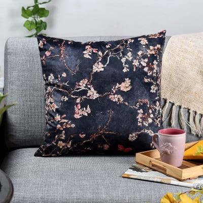 Floral Velvet Cushion