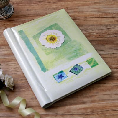Flower & Star Designed Personalized Photo Album