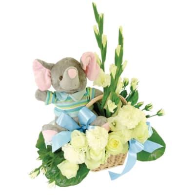 Flowers for a little boy