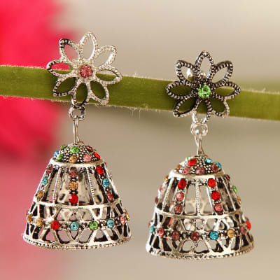 Flowery Bell Shape Earrings