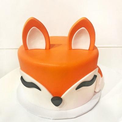 Fox Fondant Cake (4 Kg)