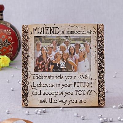Friends Theme Ceramic Photo Frame