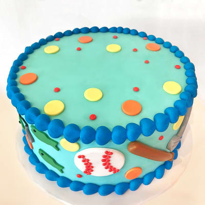 Fun Theme Celebration Semi Fondant Cake (4 Kg)