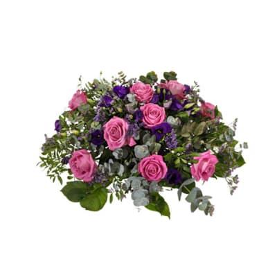 Funeral arrangement, Rosa-Lila