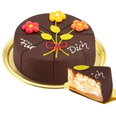 German Pyramid Cake Fur Dich