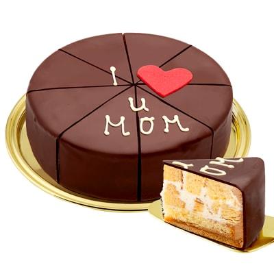 German Pyramid Cake I love u MOM