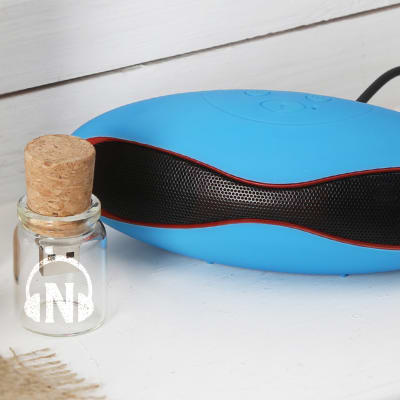 Glass Bottle Personalized Pen Drive with X6 Speaker