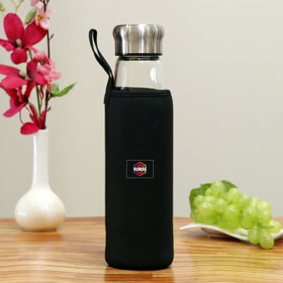Glass Infuser Bottle - Customized with Logo