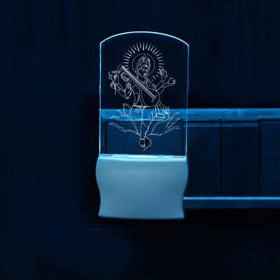 Goddess Saraswati Decorative LED Lamp