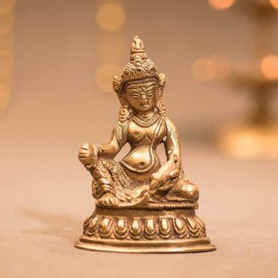 Goddess Tara Durga Maa Brass Idol