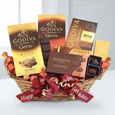 Godiva Chocolate Lover's Birthday Surprise
