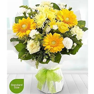 Golden Moments Flower Bouquet