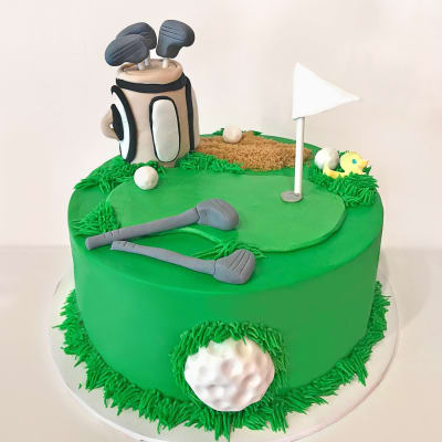Golf Course Fondant Cake (4 Kg)
