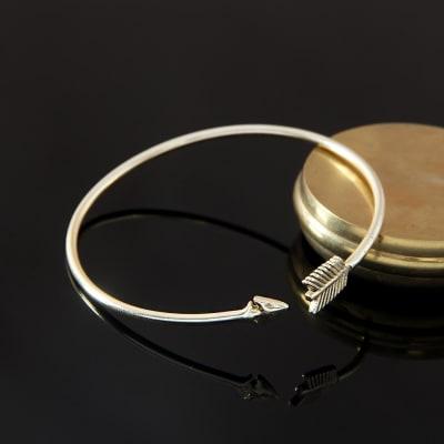 Gorgeous Brass Arrow Bracelet