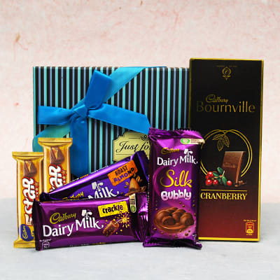Gourmet Cadbury Chocolates in Gift Box