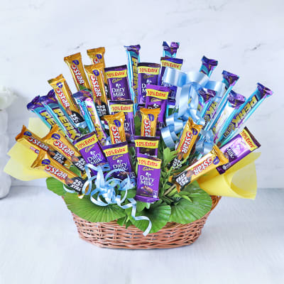 Grand Assorted Cadbury Chocolates Bouquet