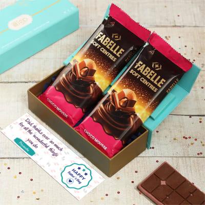 Gratitude For Dad Chocolate Gift Box