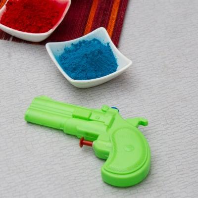 Green Gun Pichkari for Kids