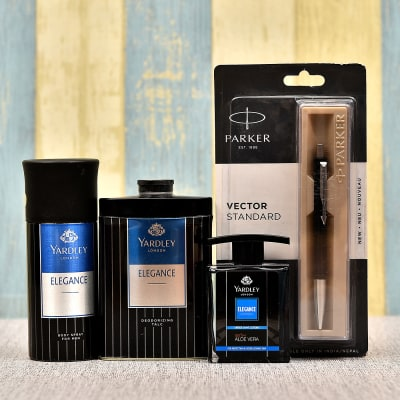 Grooming Accessories Gift Set with Pen