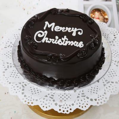 Half Kg Round Chocolate Cake