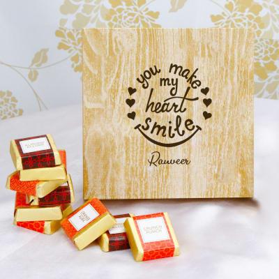 Handmade Chocolates in Personalized Box