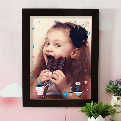 Happy Baby Personalized A3 Photo Frame