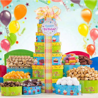 Happy Birthday Celebration Tower