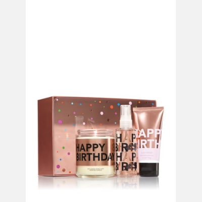 Happy Birthday Gift Set For Bath