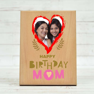 Mother Daughter Photo Frame Handmade Personalised Gift Birthday Anniversary Mum