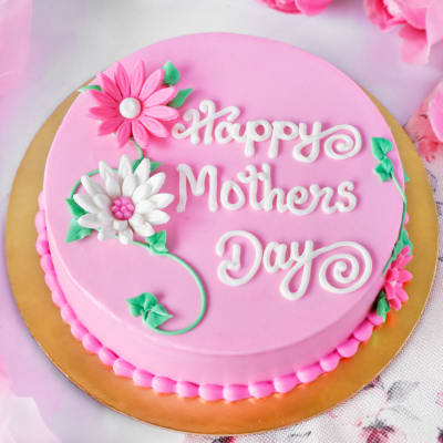 Happy Mother's Day Scrumptious Chocolate Cake (Half Kg)