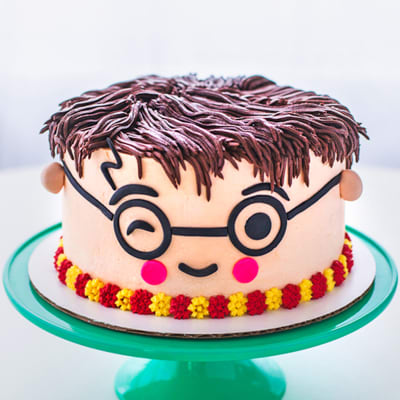 Harry Potter Fondant Cake (4 Kg)