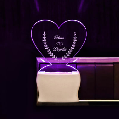 Heart-Shaped LED Decorative Lamp