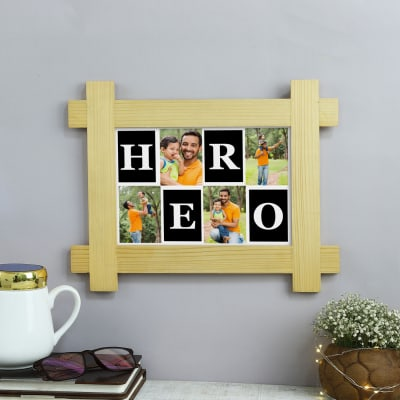 Hero Dad Personalized Photo Frame