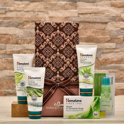 Himalaya Purifying Neem Skin Care Range In Gift Box