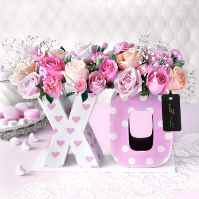 Hugs And Kisses Arrangement
