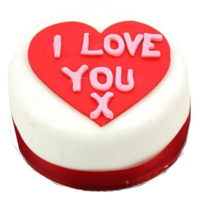 I Love You 10 inches Heart Cake