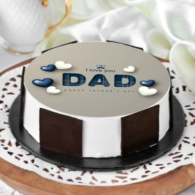 I Love You Dad Father's Day Cake (Half Kg)