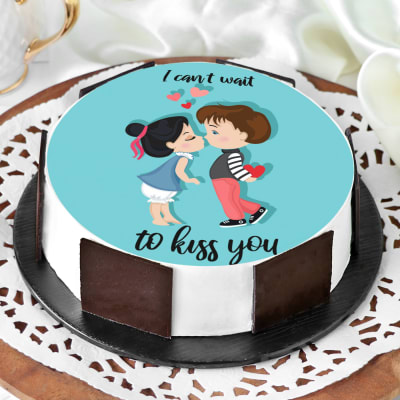 I Want To Kiss You Cake (Half Kg)