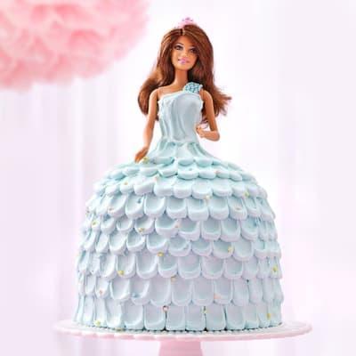 Icy Dress Barbie Cream Cake (2 Kg)