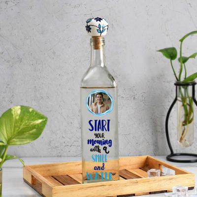 Inspire Personalized Glass Water Bottle