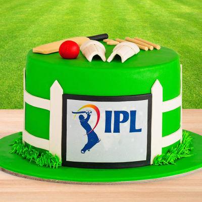 IPL 2020 Fan Fondant Cake (2 Kg)