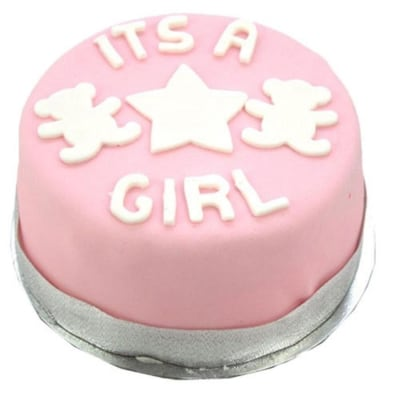 Its a Girl 6 inches Cake