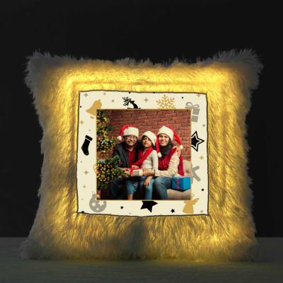 Its Christmas Personalized LED Cushion